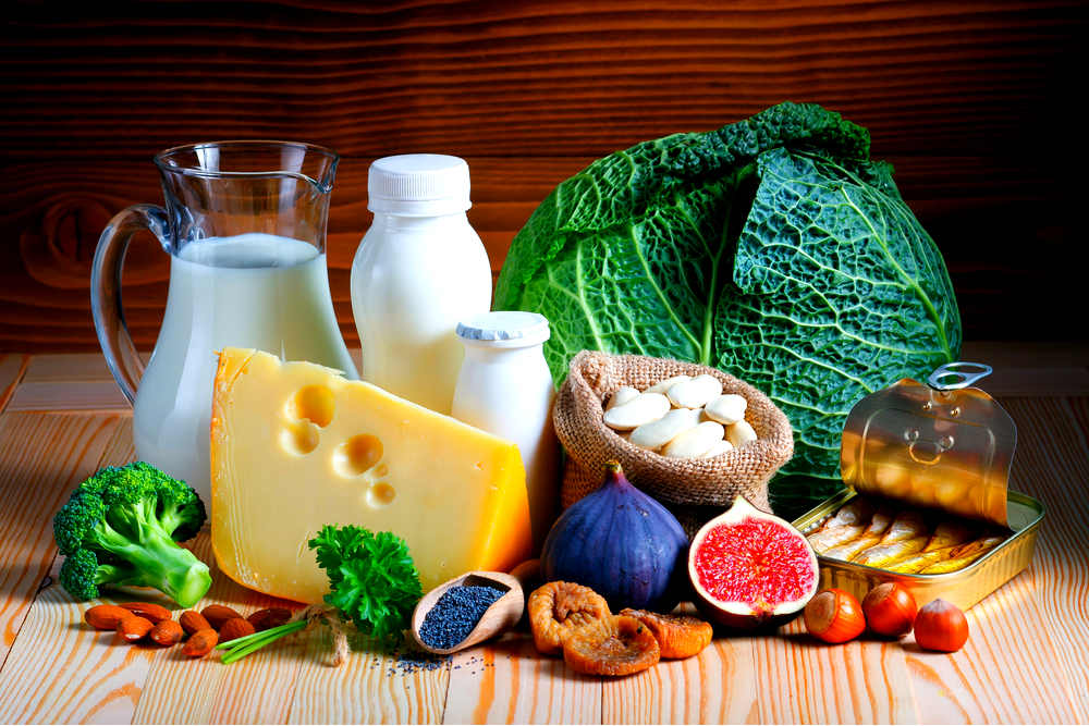 Calcium rich foods for healthy bones