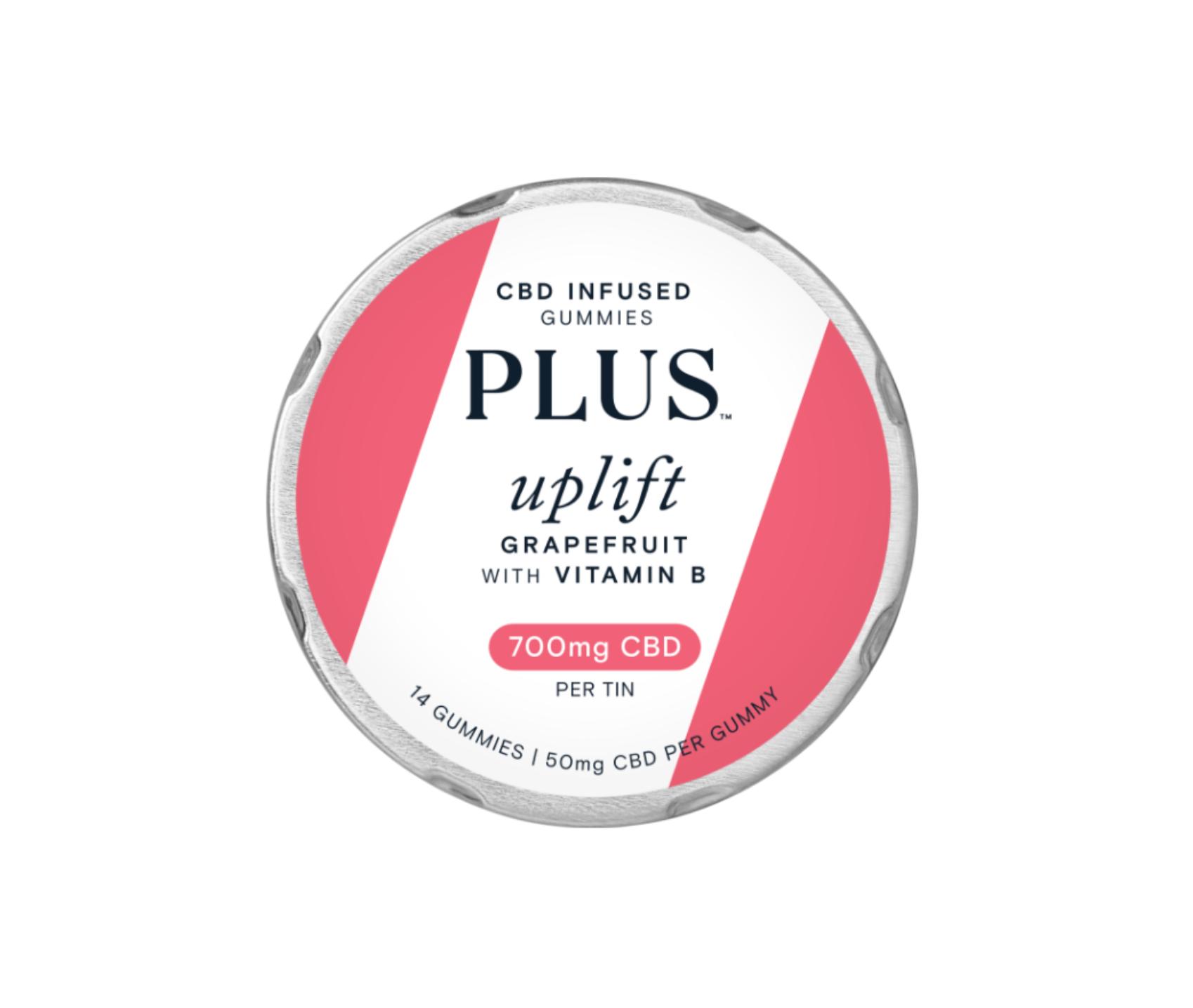 PLUS CBD uplift gummy HQ